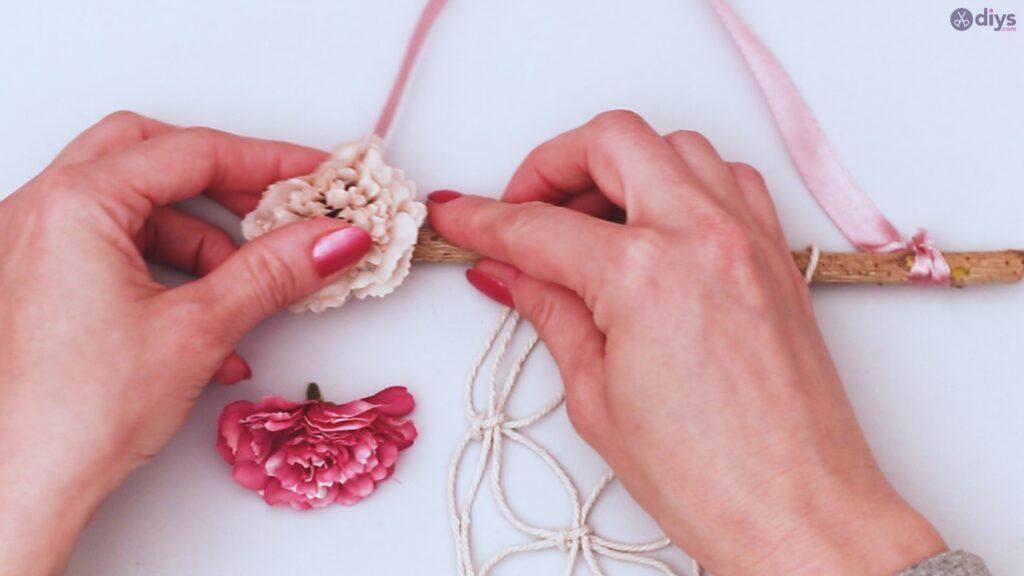 Projet de bricolage suspendu floral (32)