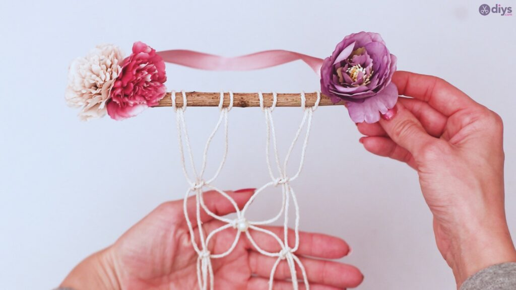 Projet de bricolage suspendu floral (40)