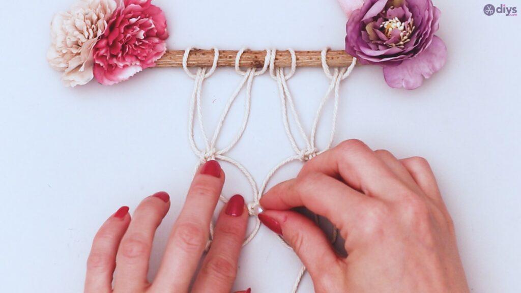 Projet de bricolage suspendu floral (39)