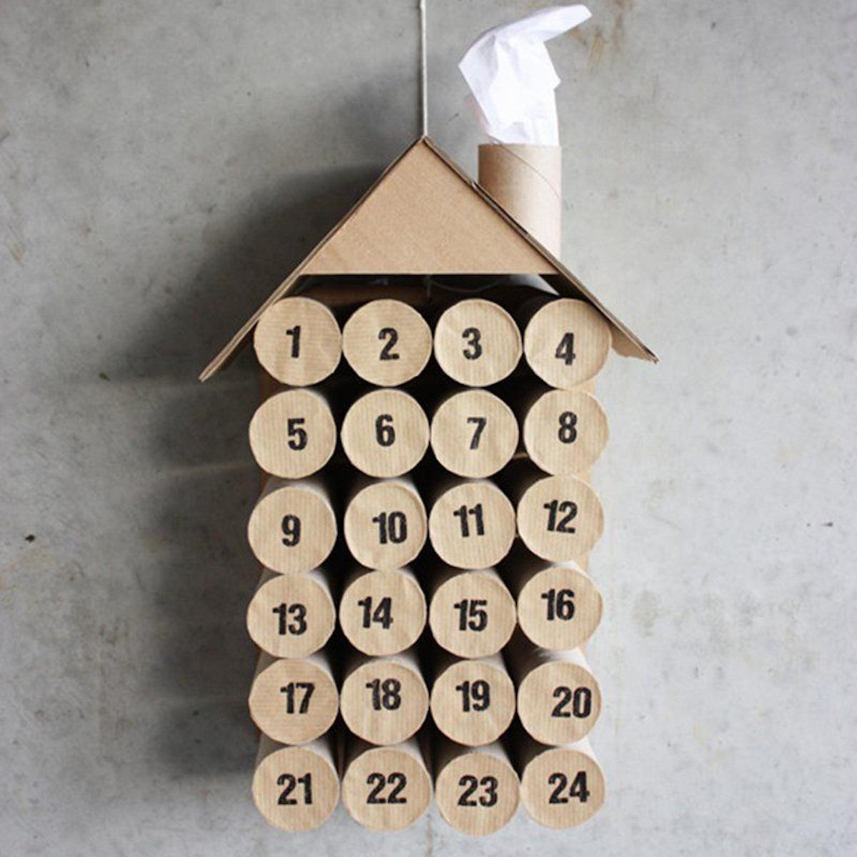 Calendriers de l'Avent faits maison pour les plus petits de la maison 7