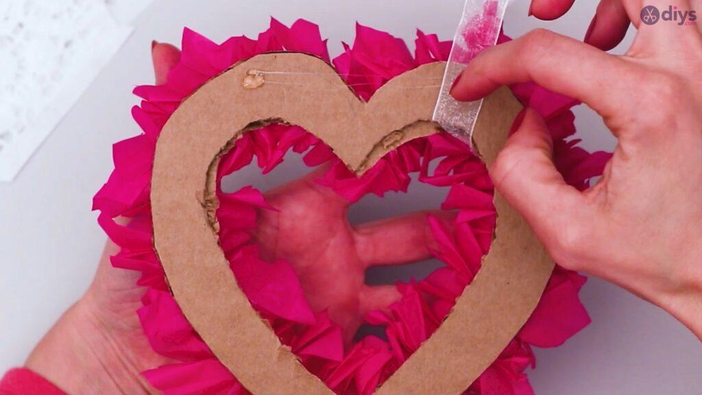 Papier de soie bricolage coeur gonflé étape 1 (34)