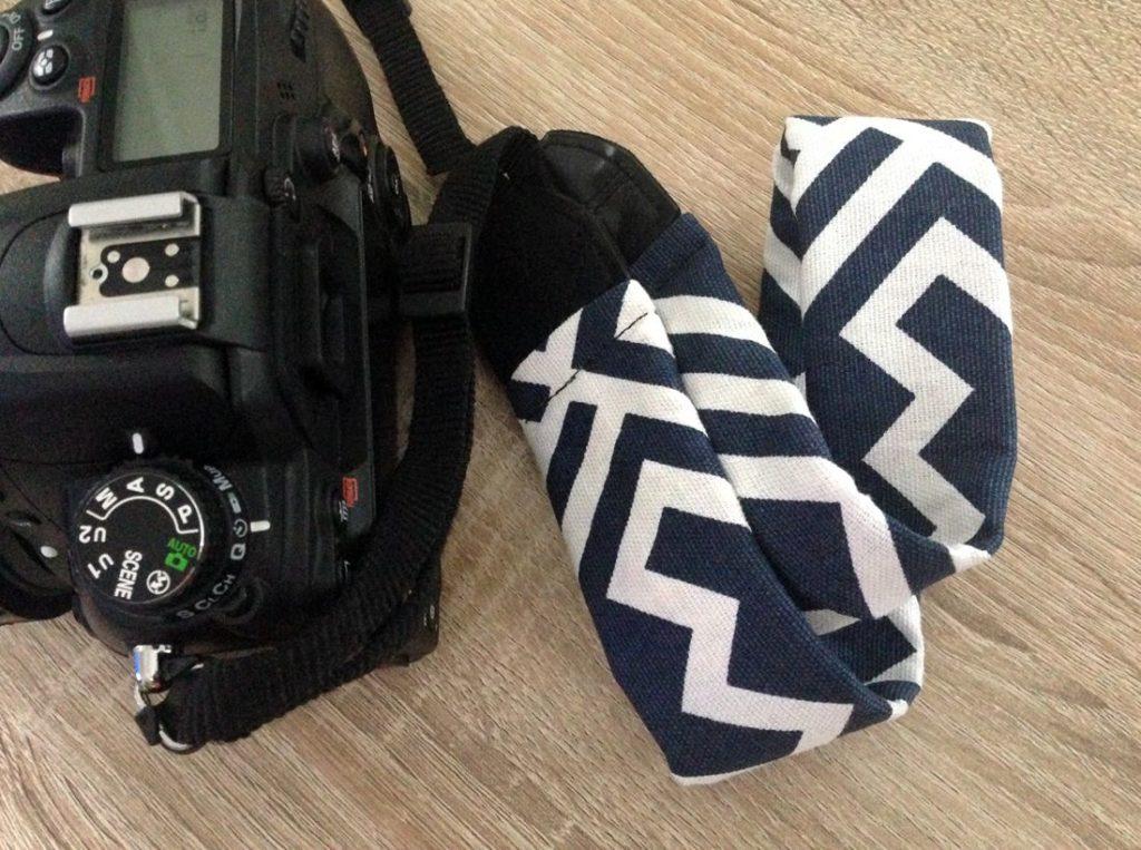 Tutoriel de couture de sangle d'appareil photo moderne