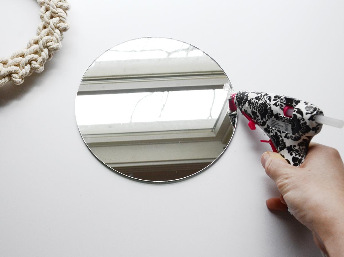 Miroir corde bricolage 5