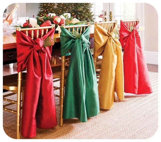Idées de chaises de Noël