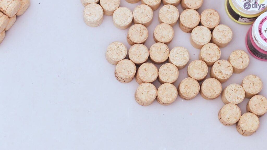 Couronne florale de liège de vin (6)