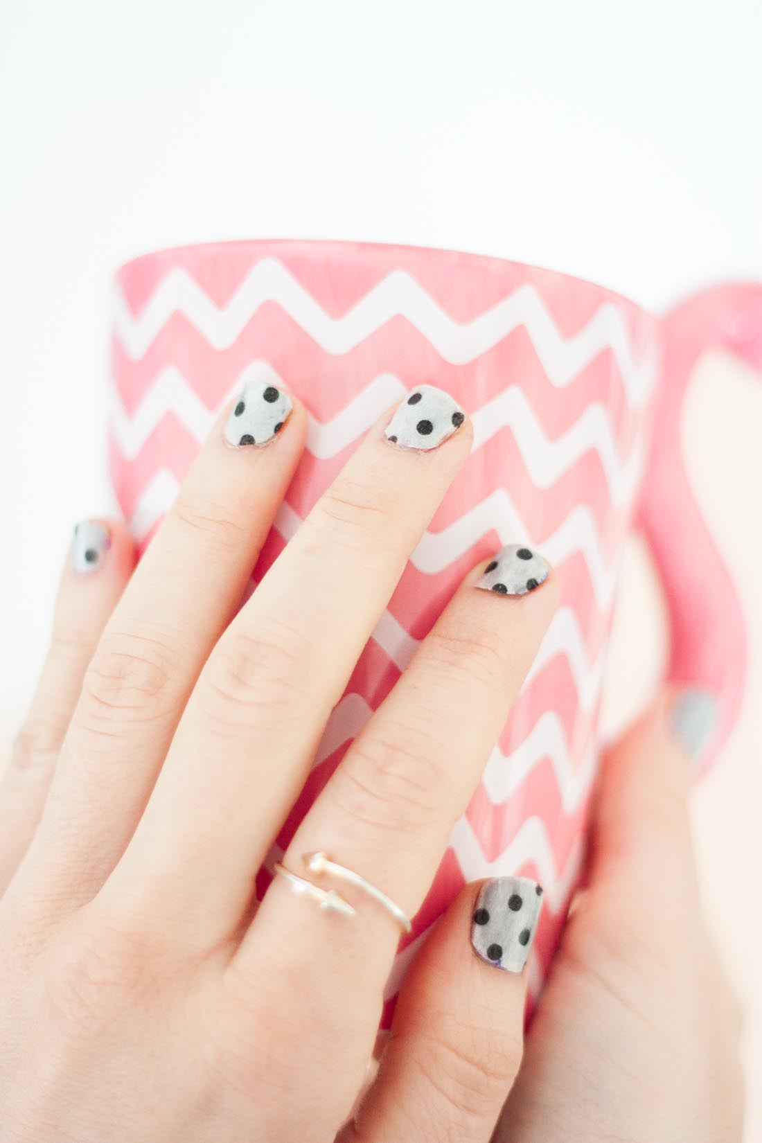 Nail art en Washi Tape