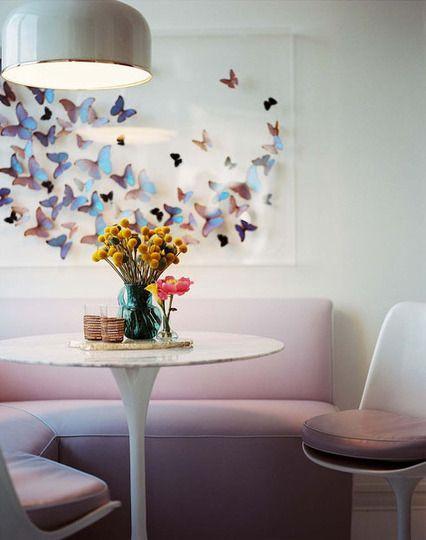 Idées de mur de papillons