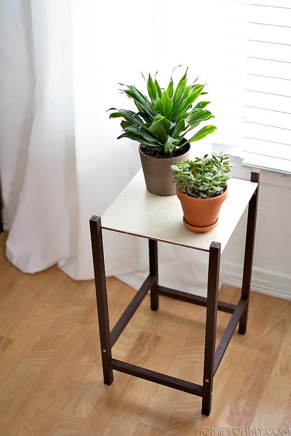 Support de plante moderne bricolage