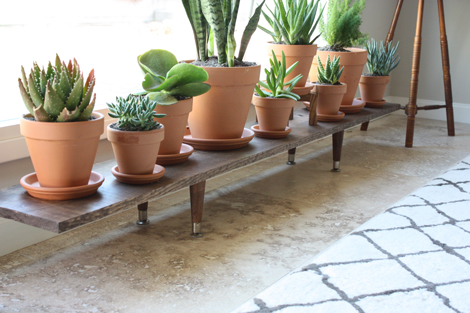 Support de plante en bois bricolage