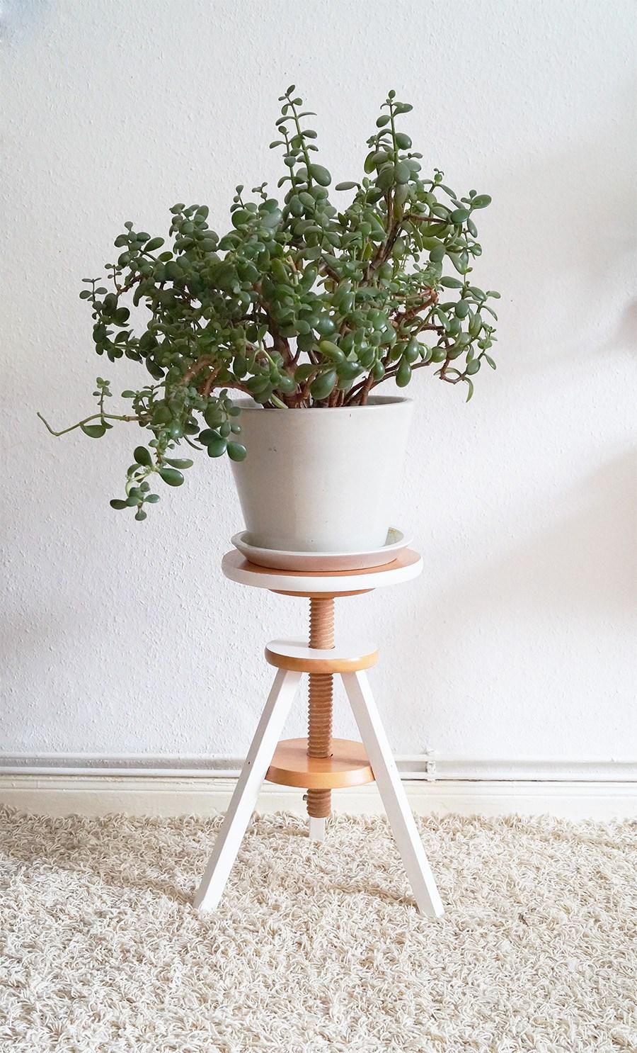 Support de plante de bricolage