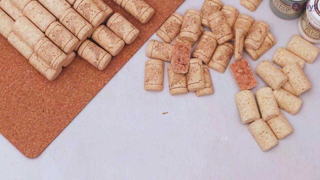 Porte-serviettes en liège vin (4)
