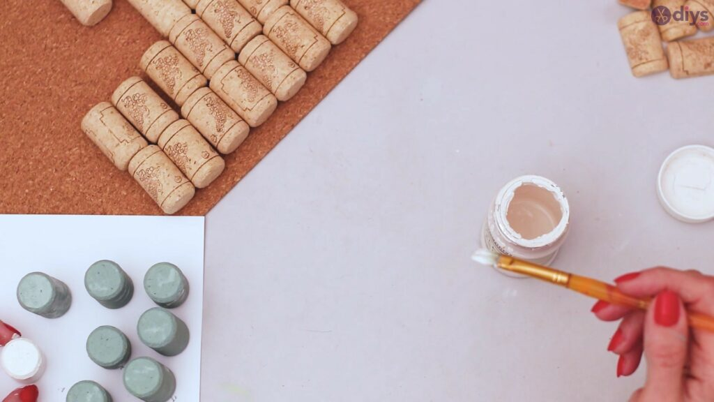Porte-serviettes en liège vin (18)