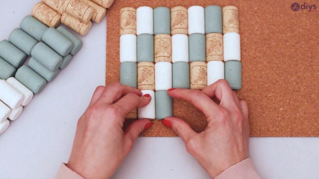Porte-serviettes en liège vin (25)