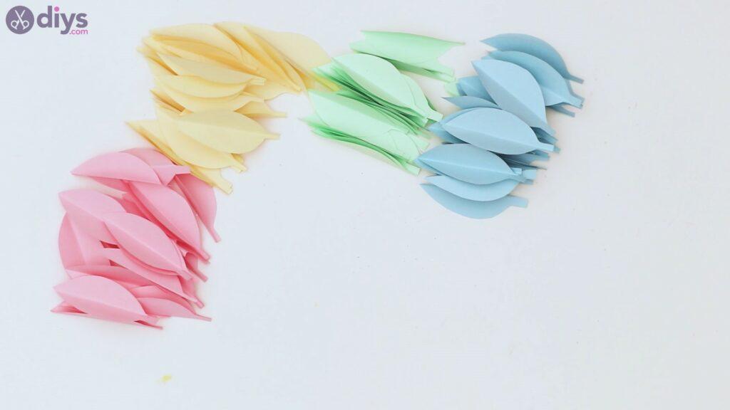 Marches de guirlande de fleurs en papier (19)