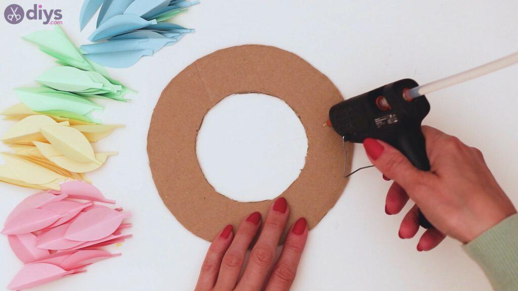Étapes de guirlande de fleurs en papier (20)