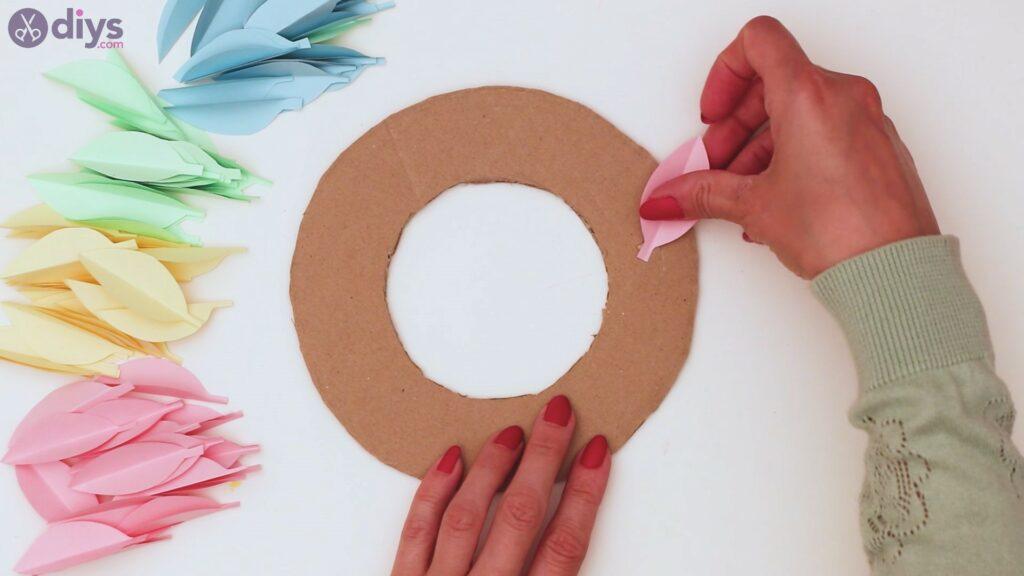 Étapes de guirlande de fleurs en papier (21)