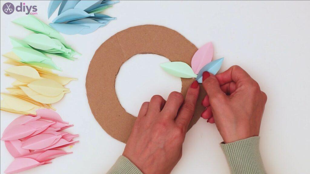 Marches de guirlande de fleurs en papier (24)