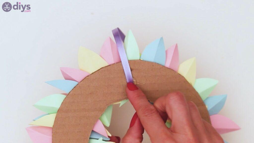 Marches de guirlande de fleurs en papier (33)