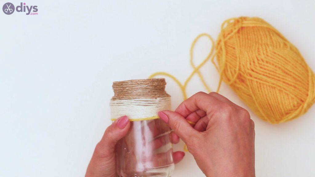 Marches de vase enveloppées de corde (22)
