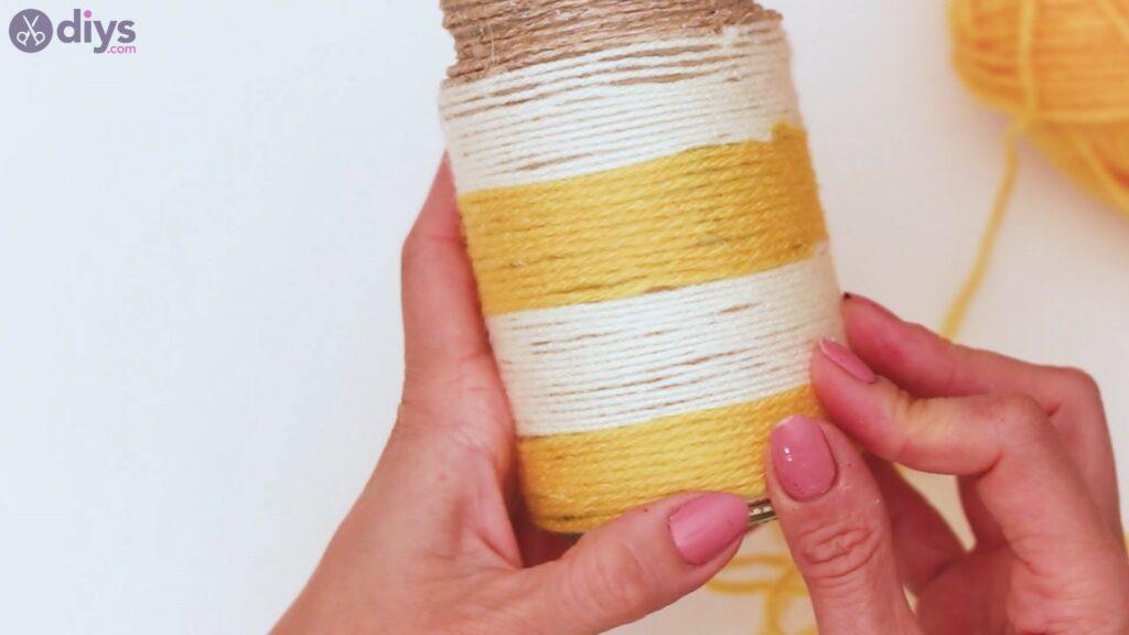 Marches de vase enveloppées de corde (40)