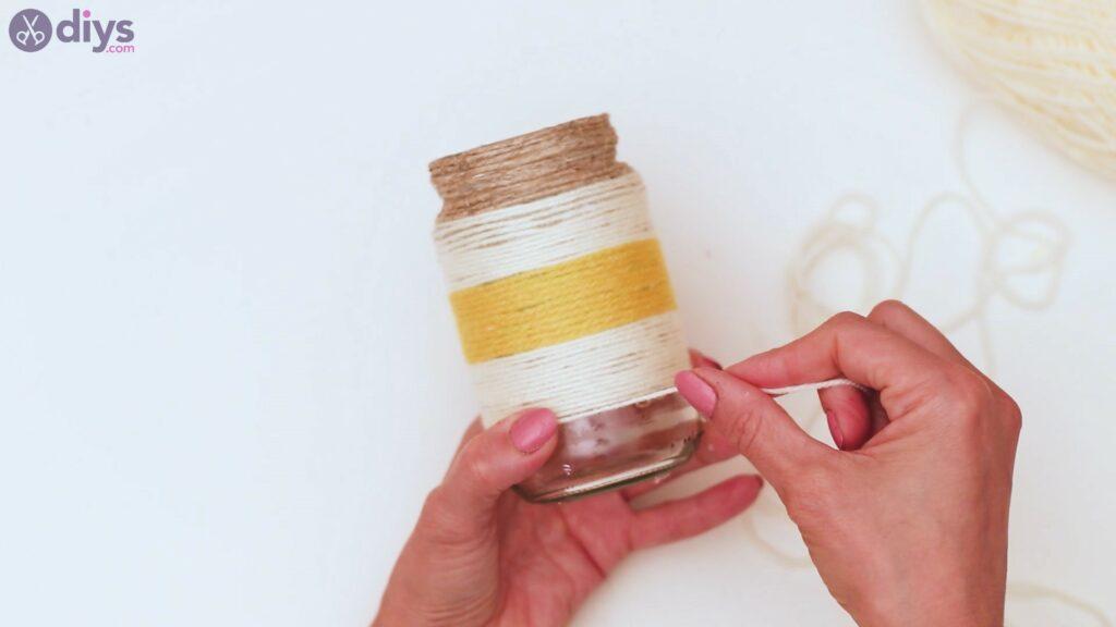 Marches de vase enveloppées de corde (33)