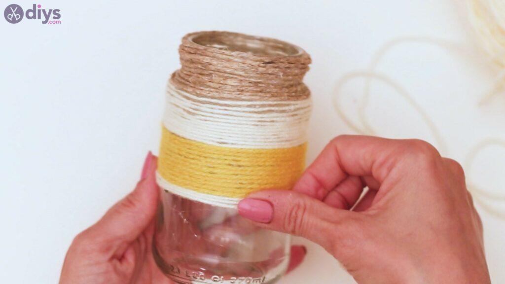 Marches de vase enveloppées de corde (31)