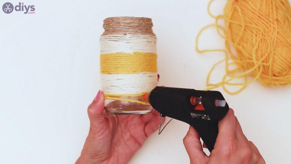 Marches de vase enveloppées de corde (37)