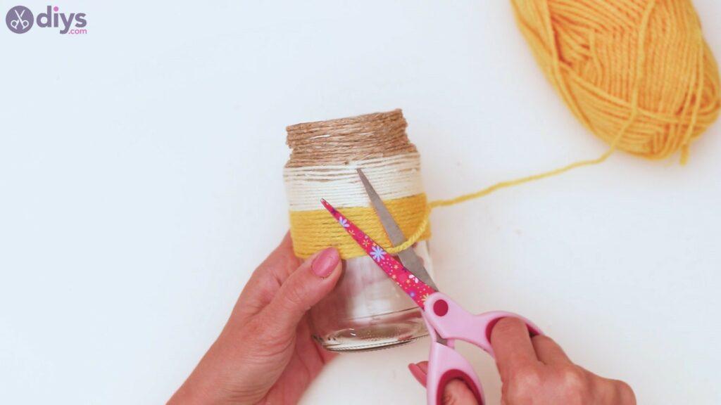 Marches de vase enveloppées de corde (27)