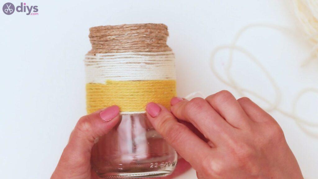 Marches de vase enveloppées de corde (29)