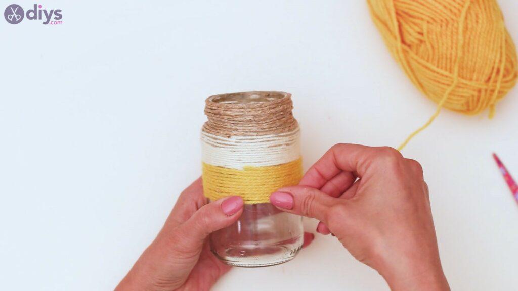 Marches de vase enveloppées de corde (26)