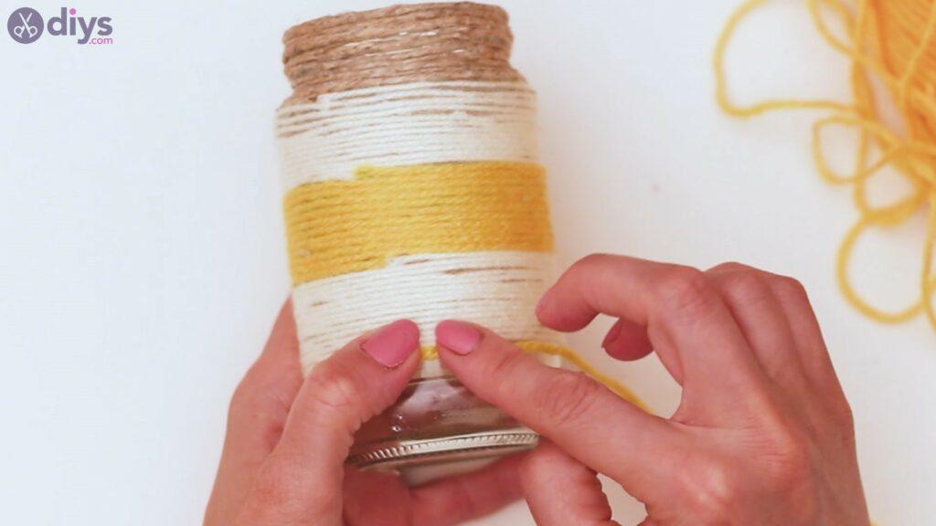 Marches de vase enveloppées de corde (36)