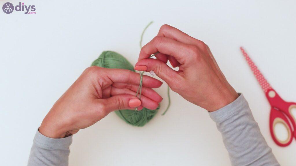 Étapes de porte-clés en perles de bois (12)