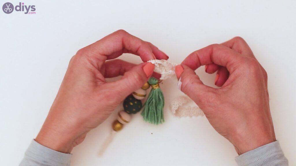 Étapes de porte-clés en perles de bois (38)