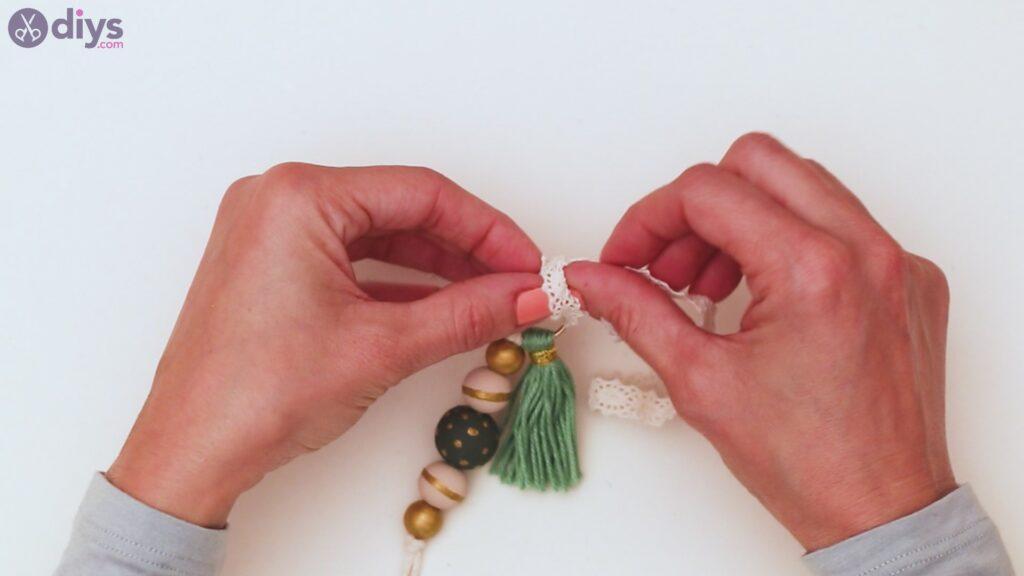 Marches de porte-clés en perles de bois (37)
