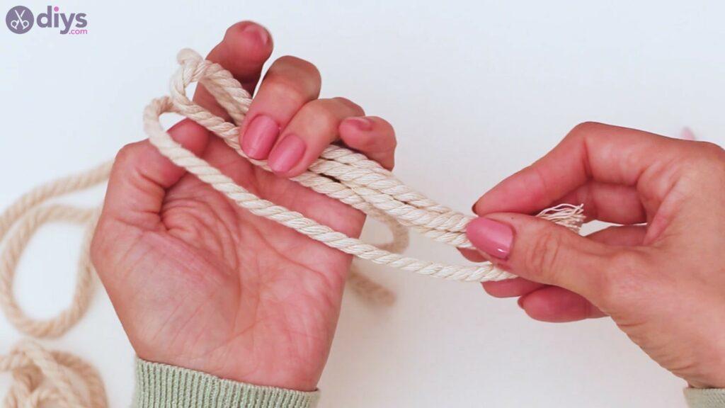 Étapes de porte-clés en textile (2)
