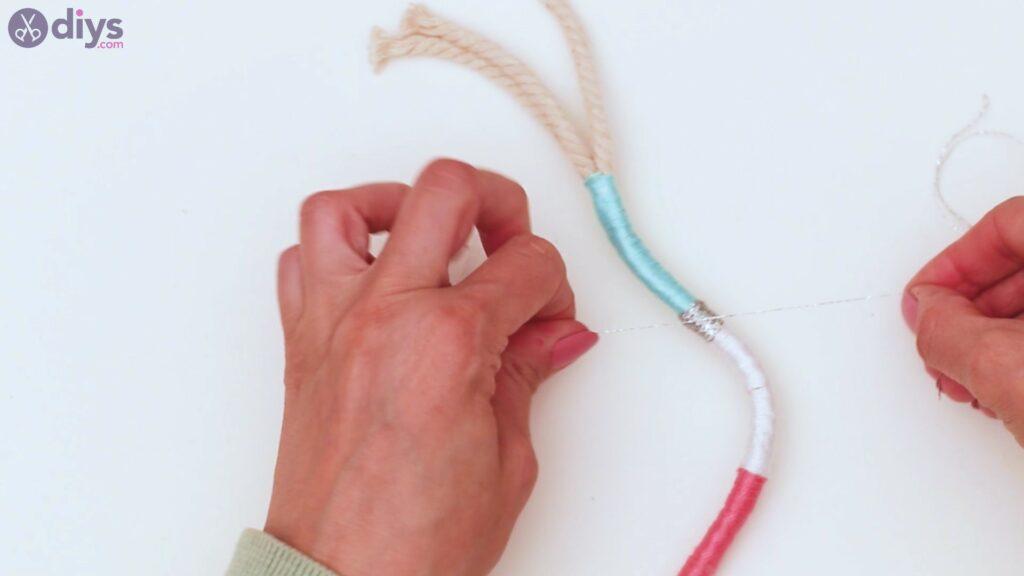 Étapes de porte-clés en textile (27)