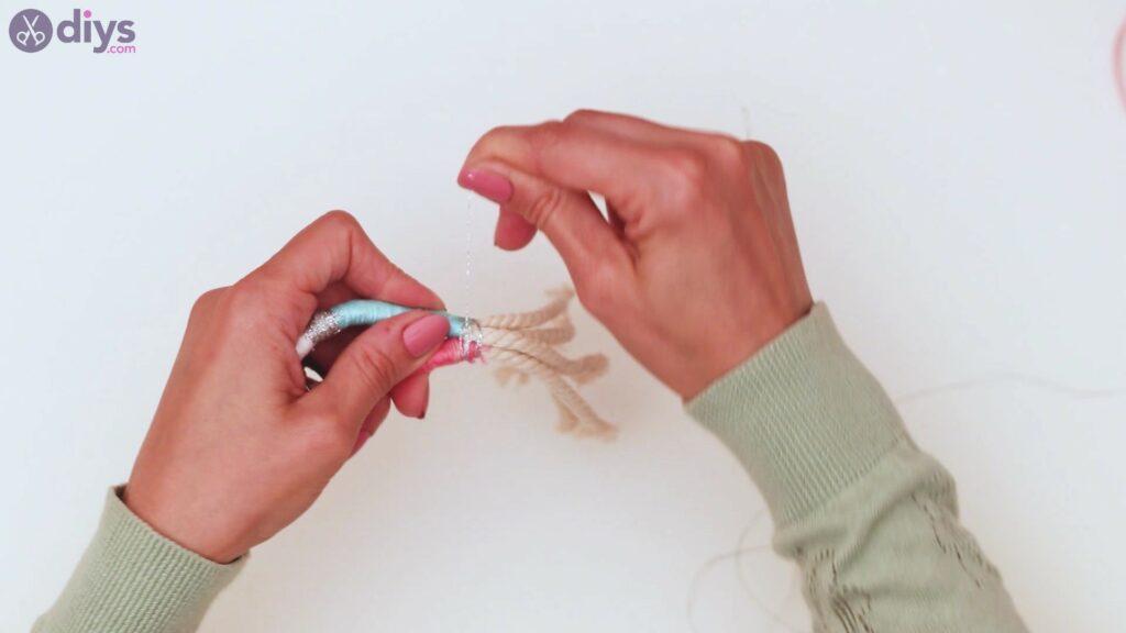Étapes de porte-clés en textile (31)