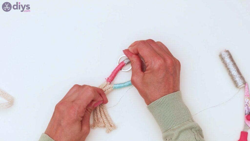 Marches porte-clés en textile (30)