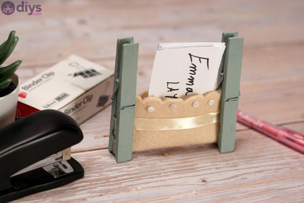 Photos de porte-cartes en feutre (3)