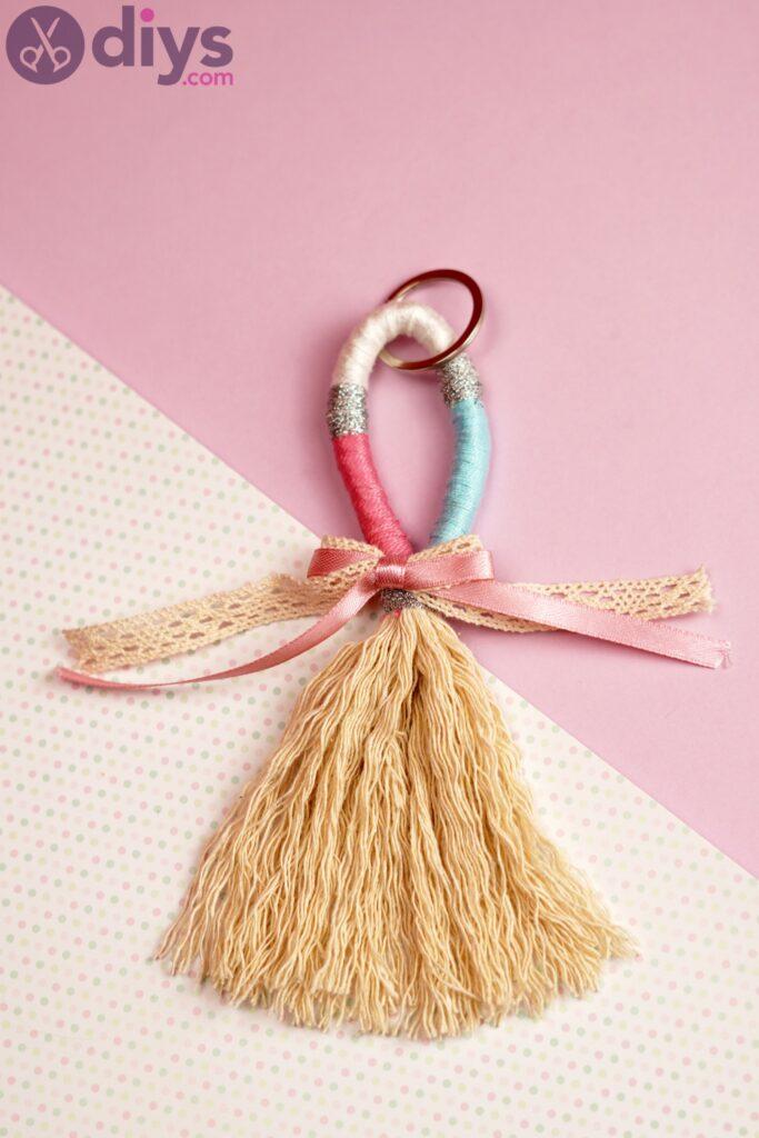 Porte-clés textile bricolage