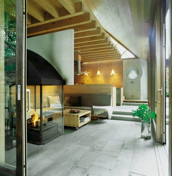Design intérieur de la cabine