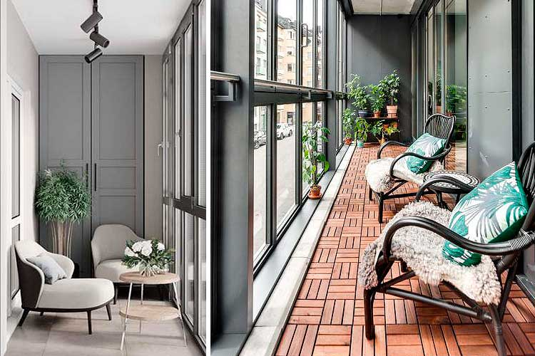 Idées pour décorer une terrasse fermée