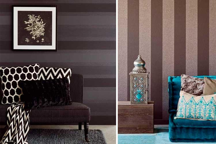 Comment décorer avec du papier peint noir