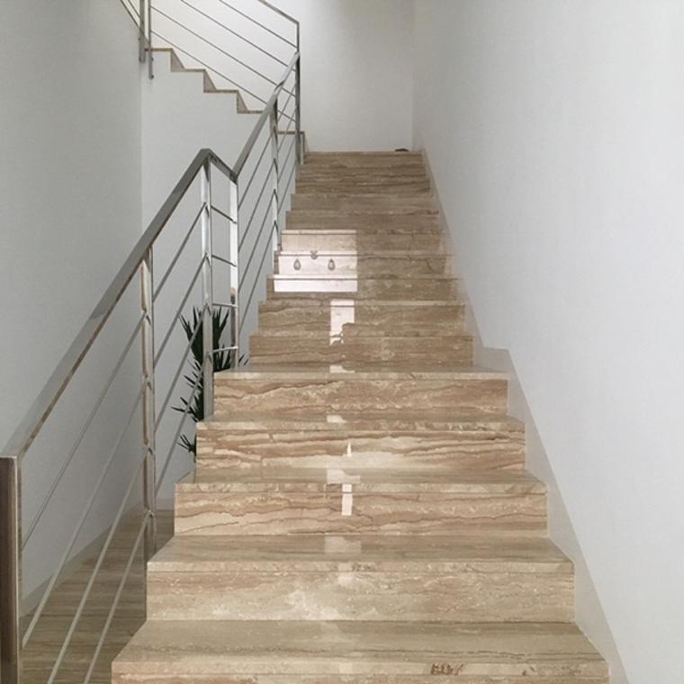 escaliers en marbre pour intérieurs