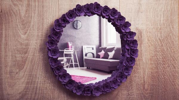 Les meilleures idées pour faire des fleurs en carton d'oeufs en miroir