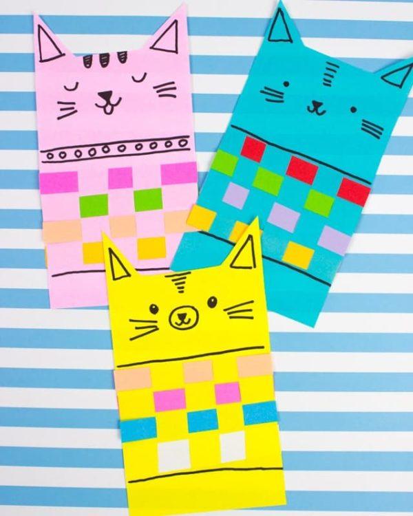 Meilleur artisanat Journée internationale de chat livre de points chat