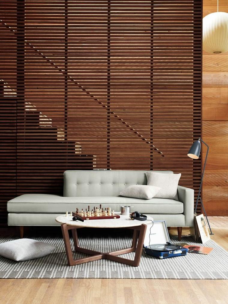 Modèle horizontal pour mur d'escalier