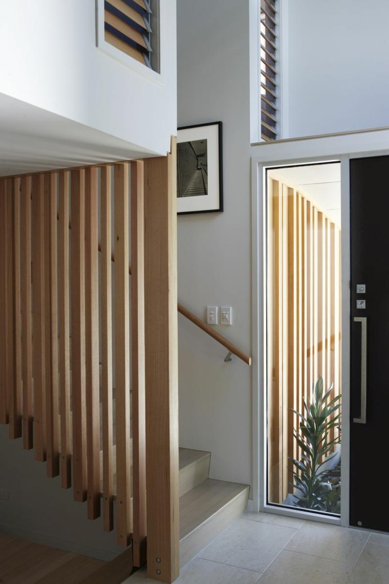 Nikau House avec des accents de bois