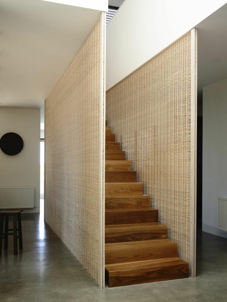 panneaux d'escalier