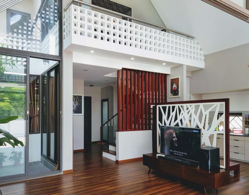 Design d'intérieur de petite maison moderne